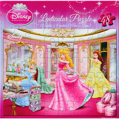 Disney Princess Piece Puzzle Beauty