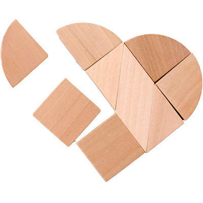 ABC Heart Wooden Puzzle